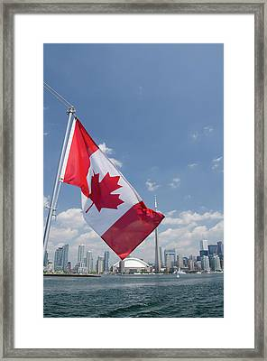 Canada, Ontario, Toronto Framed Print by Cindy Miller Hopkins