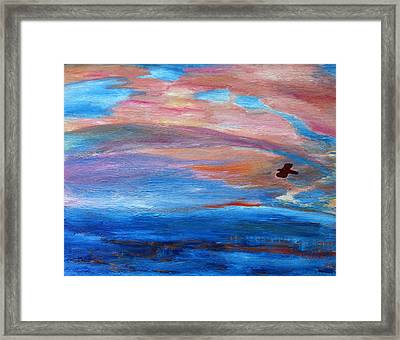 Cape May Sunset Framed Print by Vadim Levin