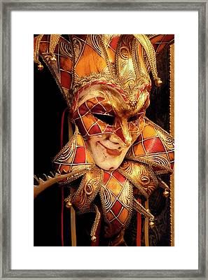 Carnivale Mask 1 Framed Print