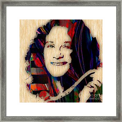 Carole King Collection Framed Print