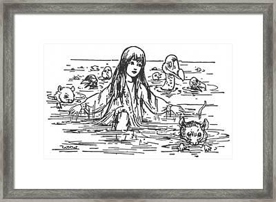 Carroll Alice, 1907 Framed Print by Granger