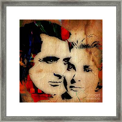Cary Grant And Grace Kelly Collection Framed Print by Marvin Blaine