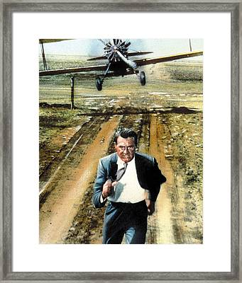 Cary Grant In North By Northwest  Framed Print by Silver Screen