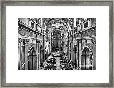 Catholic Mass Framed Print