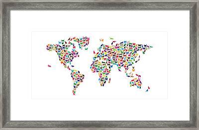 Cat Map Of The World.World Cat Art Fine Art America