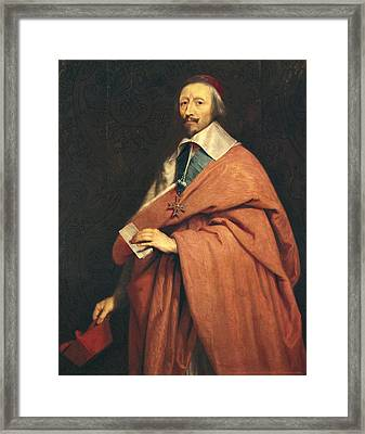 Champaigne, Philippe De 1602-1674 Framed Print by Everett