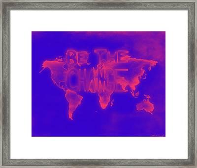 Change Framed Print by Michelle Wiltz