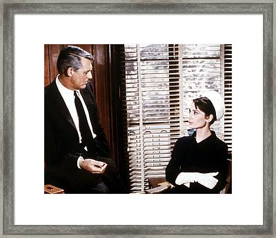 Charade  Framed Print by Silver Screen
