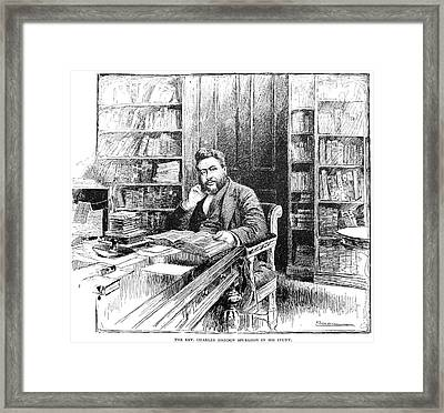 Charles Haddon Spurgeon (1834-1892) Framed Print
