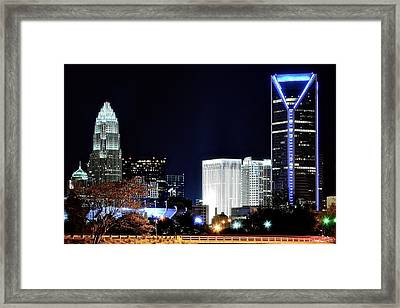 Charlotte Towers Framed Print
