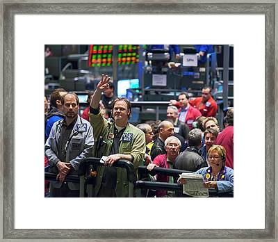 Chicago Mercantile Exchange Framed Print by Jim West