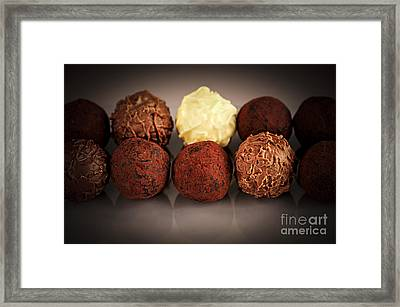 Chocolate Truffles Framed Print