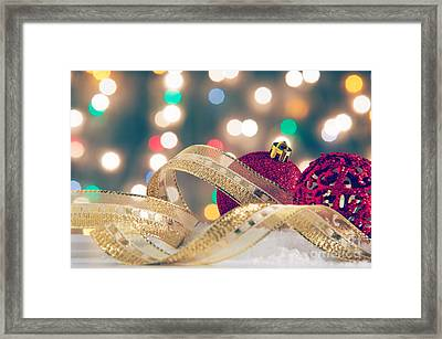 Christmas Still-life Framed Print