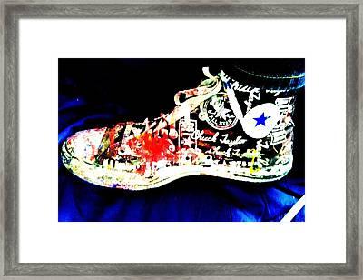 Chuck Taylor Framed Print