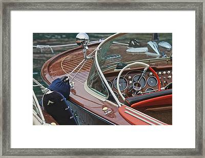 Classic Riva Framed Print by Steven Lapkin