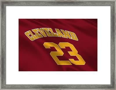Cleveland Cavaliers Uniform Framed Print by Joe Hamilton