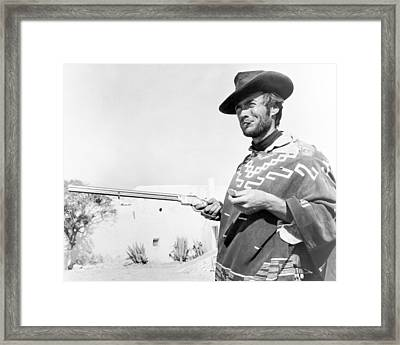 Clint Eastwood Framed Print by Silver Screen