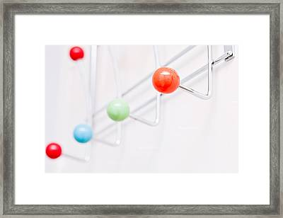 Clothes Pegs Framed Print by Tom Gowanlock
