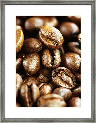 Coffee Framed Print by Falko Follert