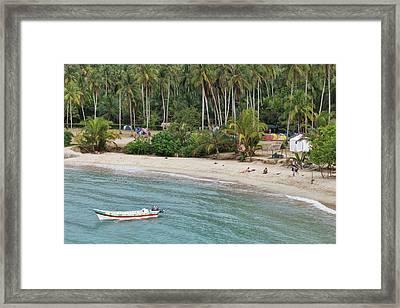 Colombia, Tayrona National Park, Cabo Framed Print by Matt Freedman