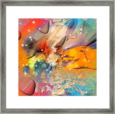 Colors By Nico Bielow Framed Print