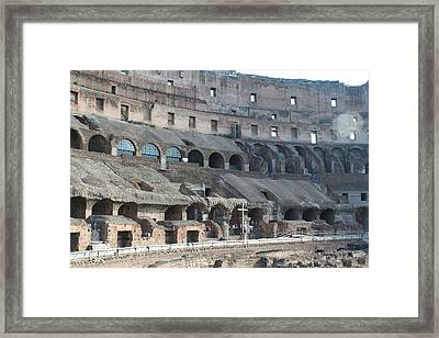 Coloseum Framed Print by Dick Willis