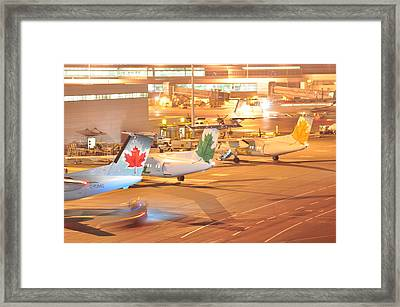 3 Colours  Framed Print