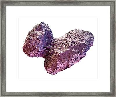Comet Churyumov-gerasimenko Framed Print by Maurizio De Angelis