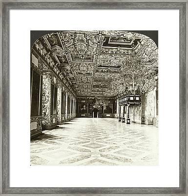 Copenhagen Royal Palace Framed Print