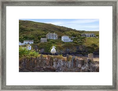 Cornwall - Port Isaac Framed Print