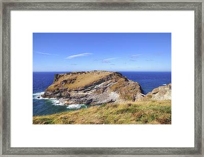 Cornwall - Tintagel Framed Print
