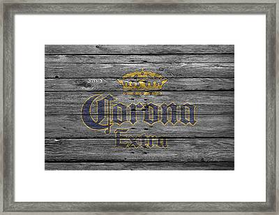 Corona Extra Framed Print by Joe Hamilton