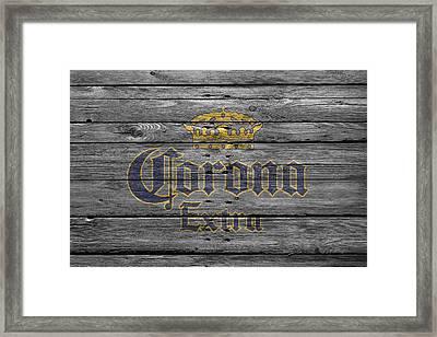 Corona Extra Framed Print by Joe Hamilton