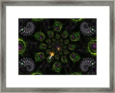 Cosmic Embryos Framed Print by Shawn Dall