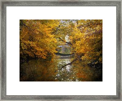 Country Bridge Framed Print by Jessica Jenney