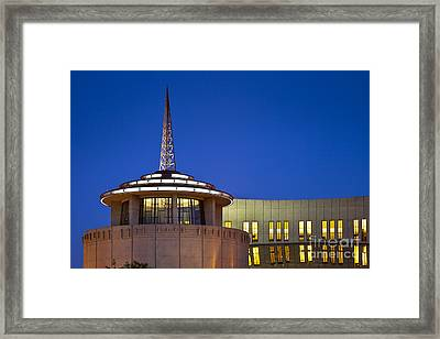Country Music Hall Of Fame Framed Print by Brian Jannsen