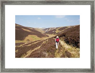 Cowgill Upper Reservoir Framed Print