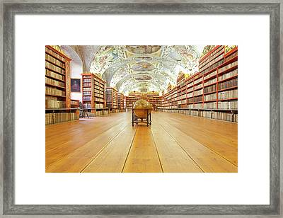 Czech Republic Prague, Strahov Framed Print