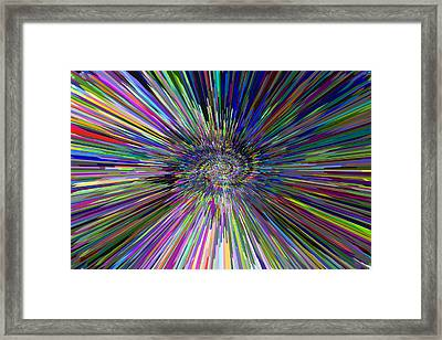 3 D Dimensional Art Abstract Framed Print