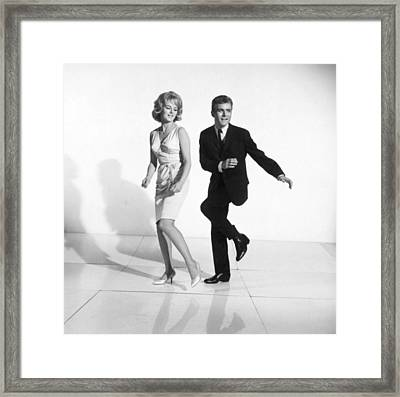 Dancing The Twist Framed Print