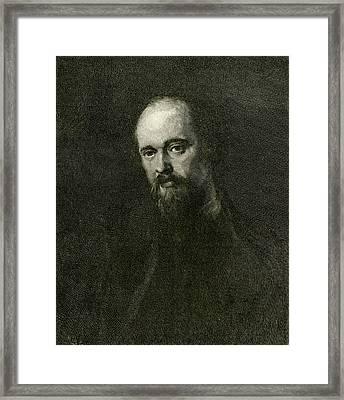 Dante Gabriel Rossetti  Poet Framed Print