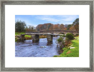 Dartmoor - Postbridge Framed Print by Joana Kruse