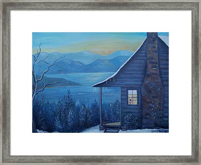 Daybreak Framed Print by Glenda Barrett