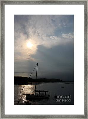 Days End  Framed Print by Christiane Schulze Art And Photography