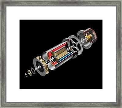 Dc Generator Framed Print by Carlos Clarivan