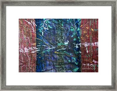 Deep See Framed Print