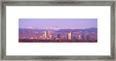 Denver, Colorado, Usa Framed Print by Panoramic Images
