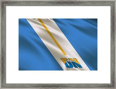 Denver Nuggets Uniform Framed Print