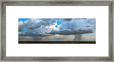 Desert Rainclouds Framed Print by Babak Tafreshi