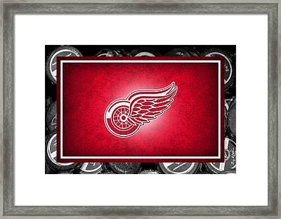 Detroit Red Wings Framed Print